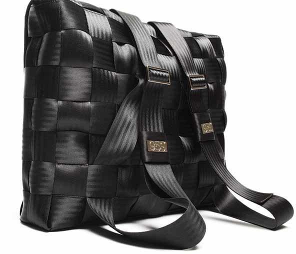 Sac à main fabriqué avec des ceintures de sécurité recyclées   Projet jury  2014-2015 d988ed7dcc2