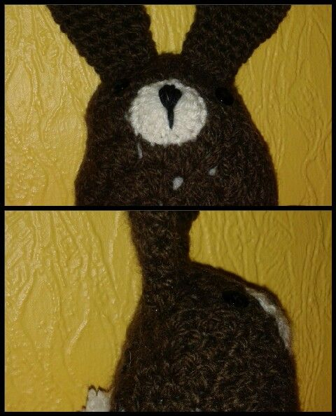 Easter bunny by The Green Dragonfly