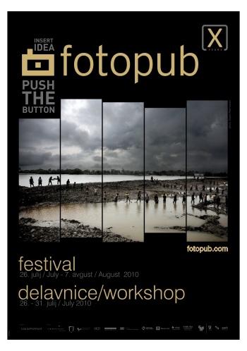 Fotopub 2010 poster. www.artisan.si