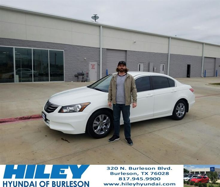 Congratulations on your new #Honda #Accord from Hiley Hyundai of Burleson!  https://deliverymaxx.com/DealerReviews.aspx?DealerCode=KNWA  #2012 #Honda #Accord #Hiley #Burleson #HileyHyundaiofBurleson