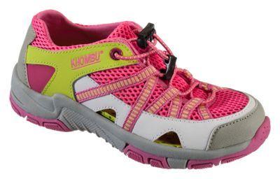 Khombu Threadfin Water Shoes for Kids - Pink - 12 Kids