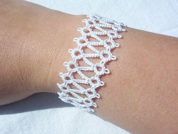 bridal lace bracelet white bridal bracelet lace by laceforbrides