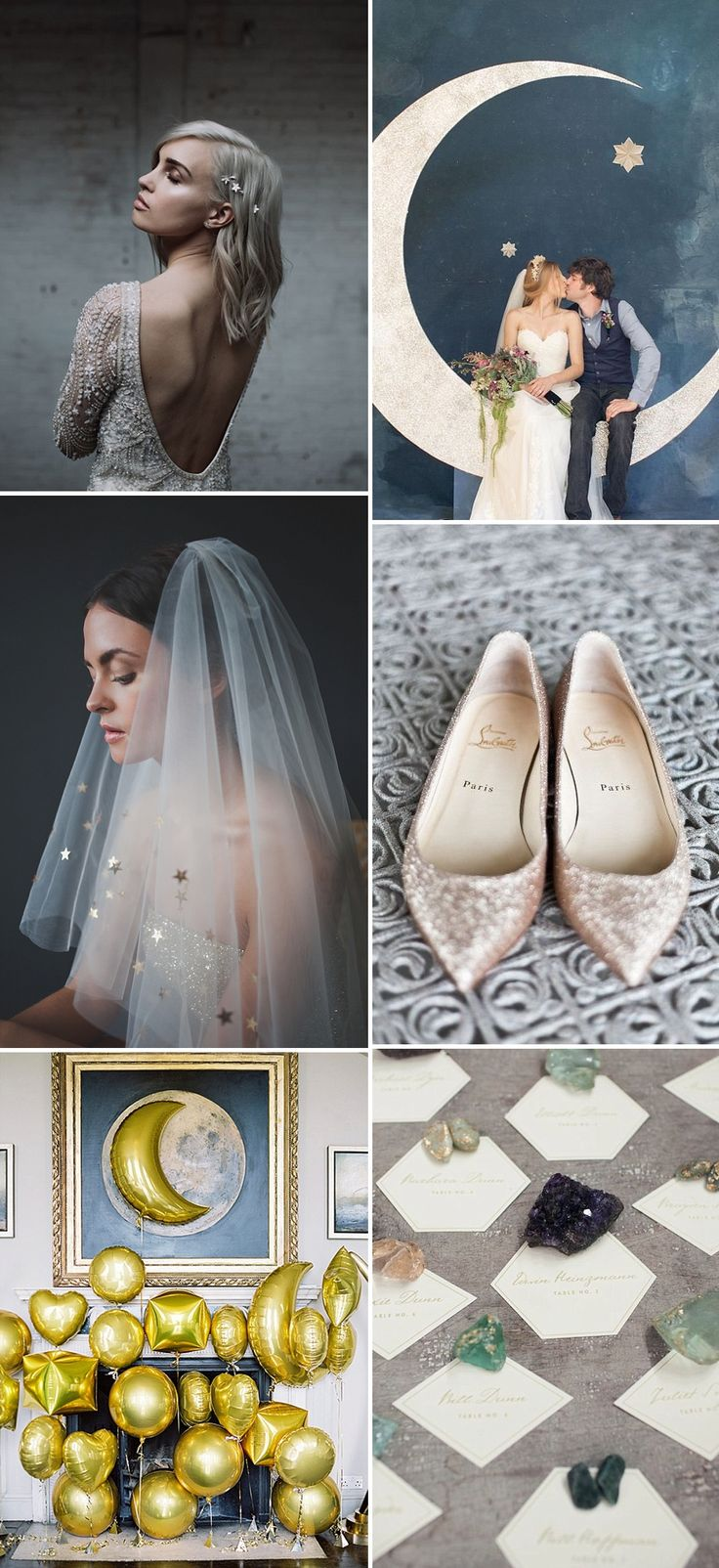 Celestial Wedding Inspiration