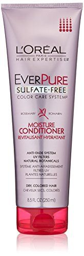 LOreal Paris Hair Care Hair Expertise Ever Pure Moisture Conditioner 85 Fluid Ounce Pack of 6 * See this great product.