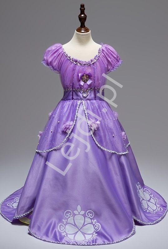 Kostium Jej wysokość Zosia dla małej księżniczki | stroje karnawałowe #jejwysokośćzosia #księżniczkazosia #strojekarnawałowe