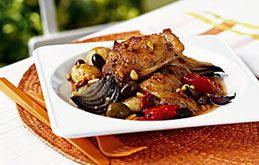 Braised Chicken with Olives and Tomatoes