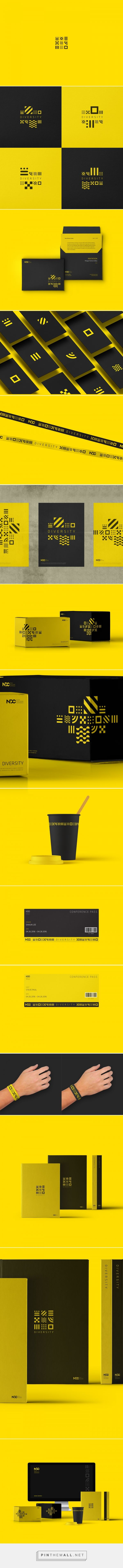 Nexon Developers Conference Branding by Shaun Lee | Fivestar Branding Agency – Design and Branding Agency & Curated Inspiration Gallery