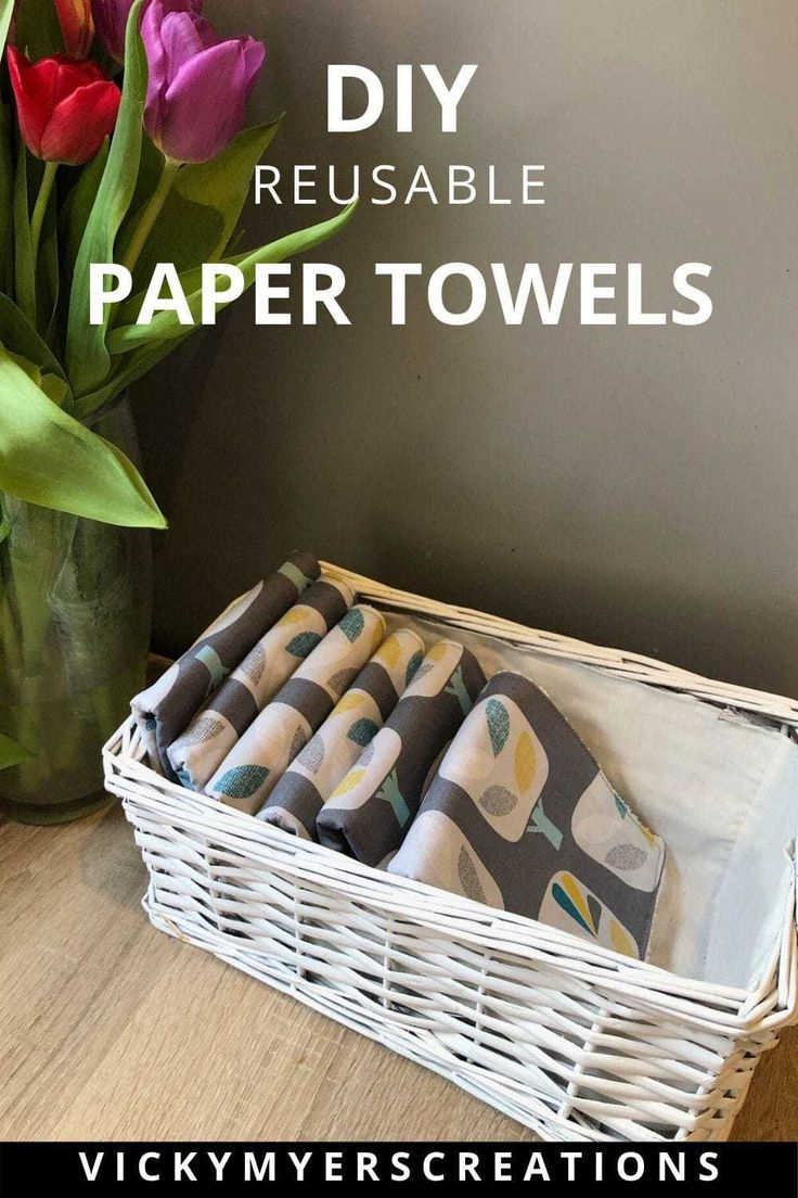 Unpaper towels DIY totally reuseable in 2020 Diy