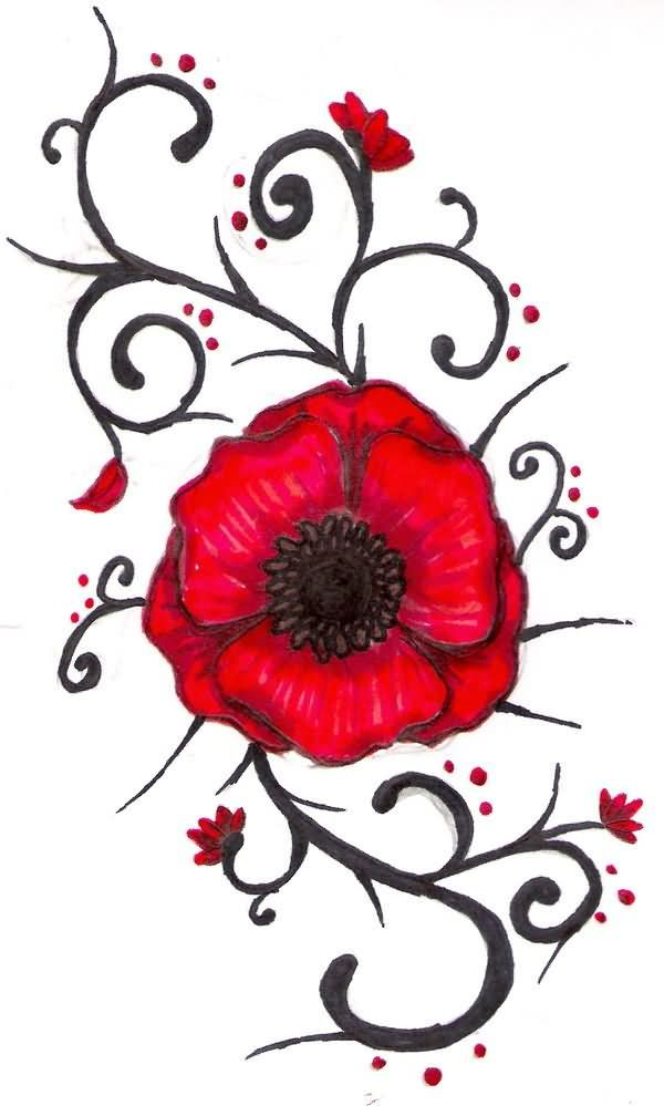 Poppy Line Drawing Tattoo : Best images about tattoo ideas on pinterest open book
