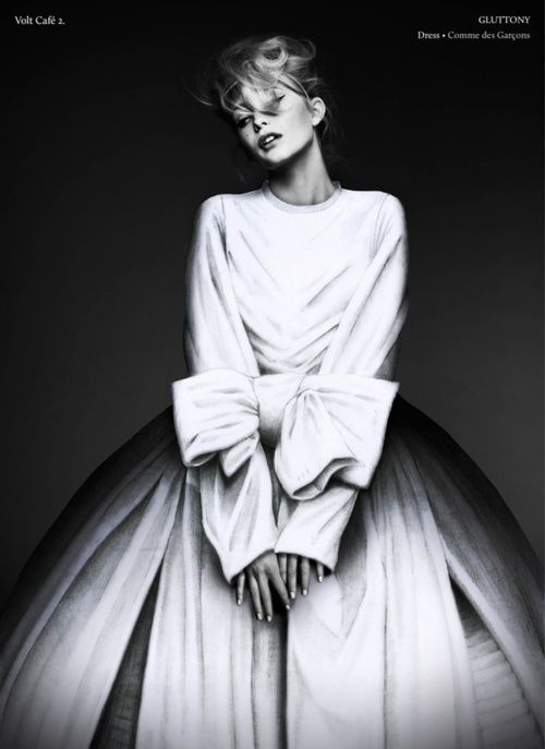 COMME des GARÇONS.Gowns, Beautiful, Dresses, For Boys, Black White, As, Hair Bows, Fashion Photography, Big Bows