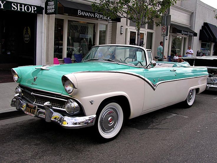 1955 Ford Pappas bil  This dream car could be yours if you just follow these steps