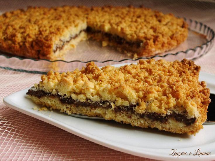 Sbriciolata+cocco+e+nutella
