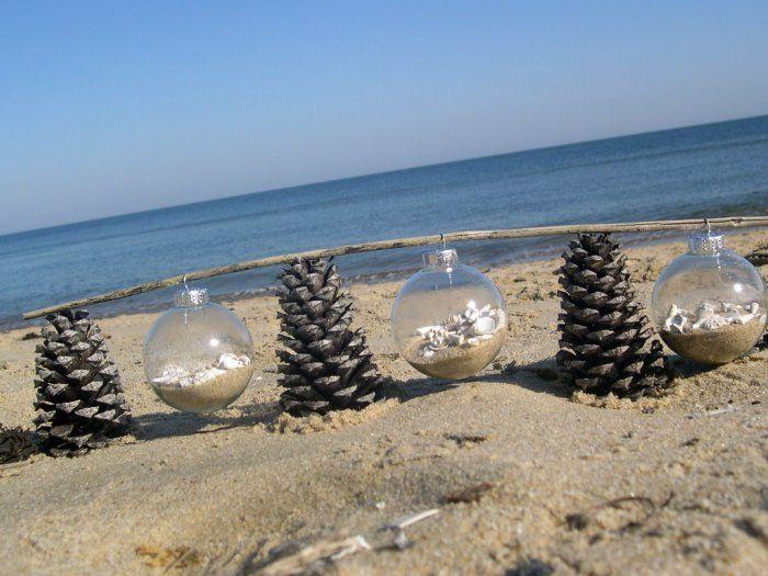 Beach Christmas Ornament