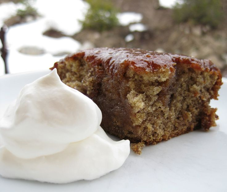 "Arabian Date Cake ... a wonderful recipe from this blog, ""Made by Nicole""."
