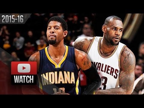 LeBron James vs Paul George Duel Highlights (2016.02.29) Cavs vs Pacers - 33 Pts for LBJ, 23 for PG! - http://thisissnews.com/lebron-james-vs-paul-george-duel-highlights-2016-02-29-cavs-vs-pacers-33-pts-for-lbj-23-for-pg/