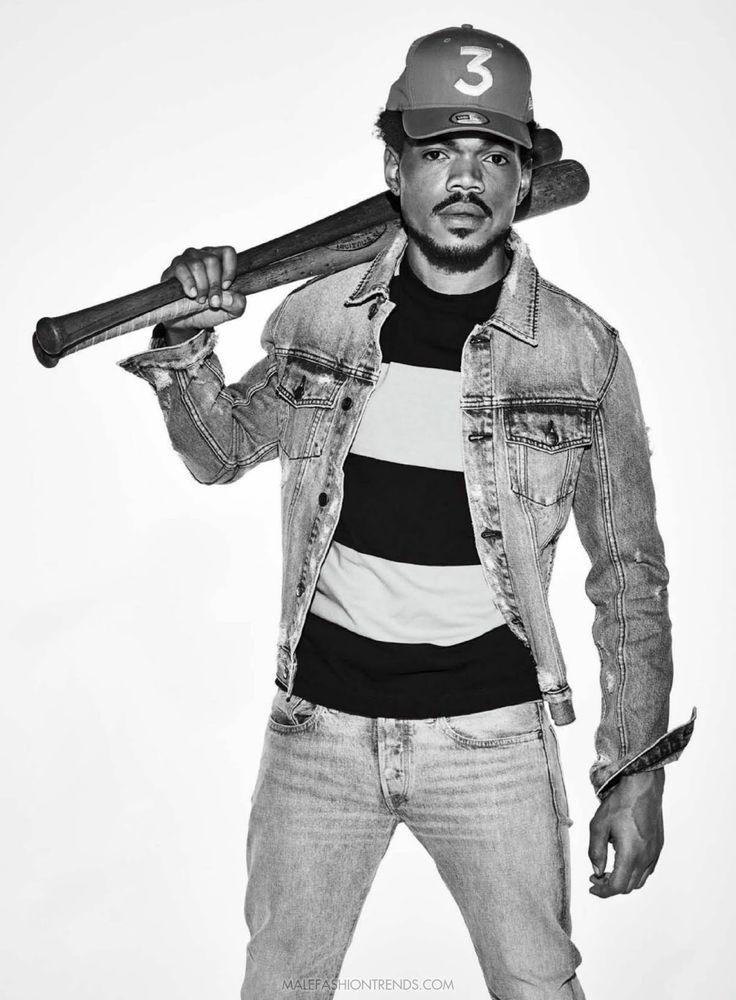 Male Fashion Trends: Chance the Rapper para GQ USA por Eric Ray Davidson