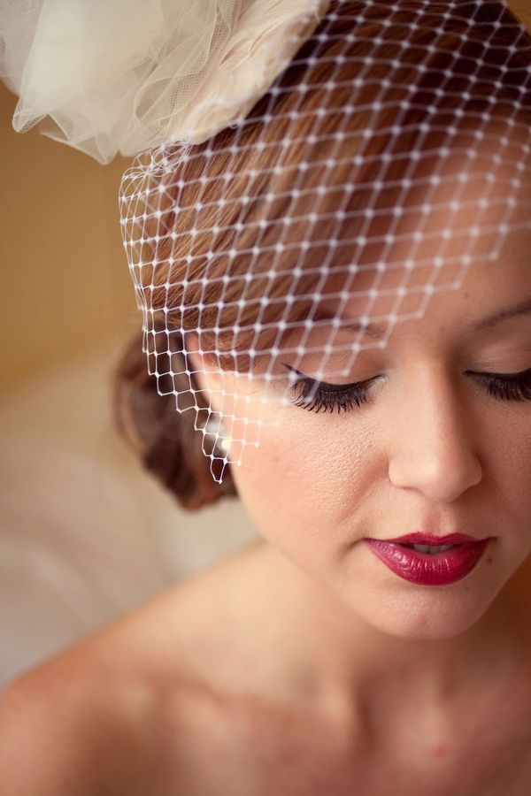 Mad Men Wedding Makeup