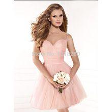 Kleid a linie rosa