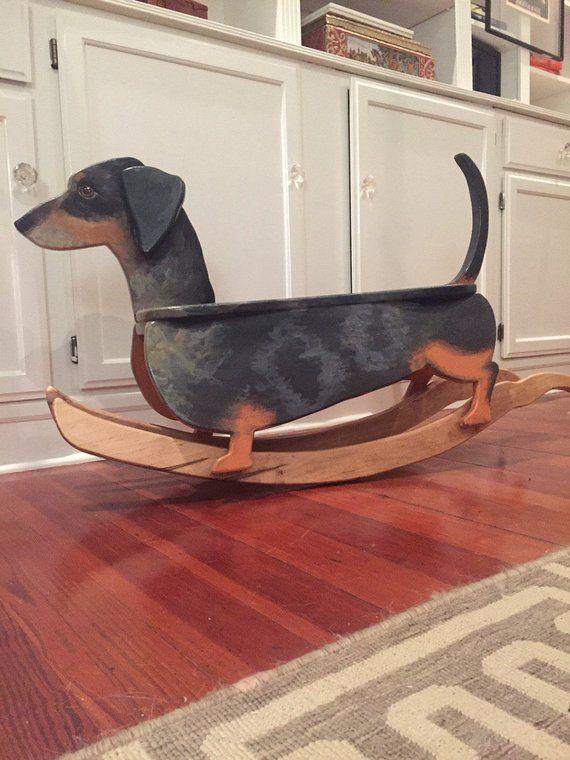 Rocking Dachshund Dachshund Breed Wiener Dog Clever Dog