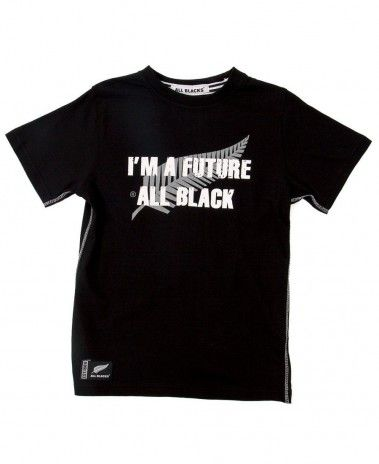 New Zealand All Blacks 'I'm a Future All Black' T-Shirt. £13.99