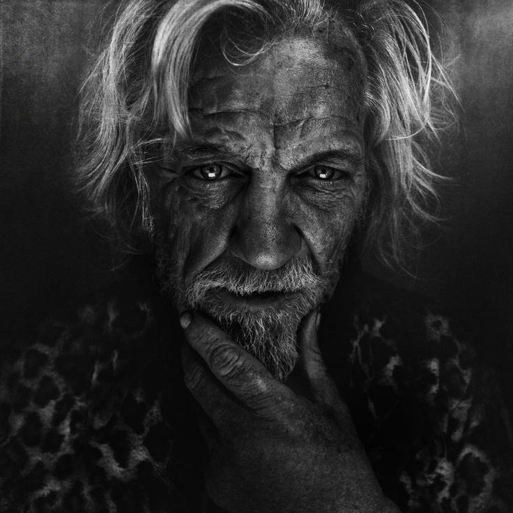 portrait black and white Lee Jeffries