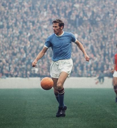 Tony Book, Captain of Manchester City pictured in the late 60s.