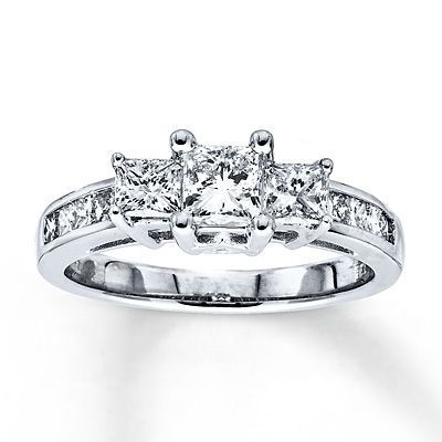 Kay jewelers: my old engagement ring... ready for him to buy me a new one!