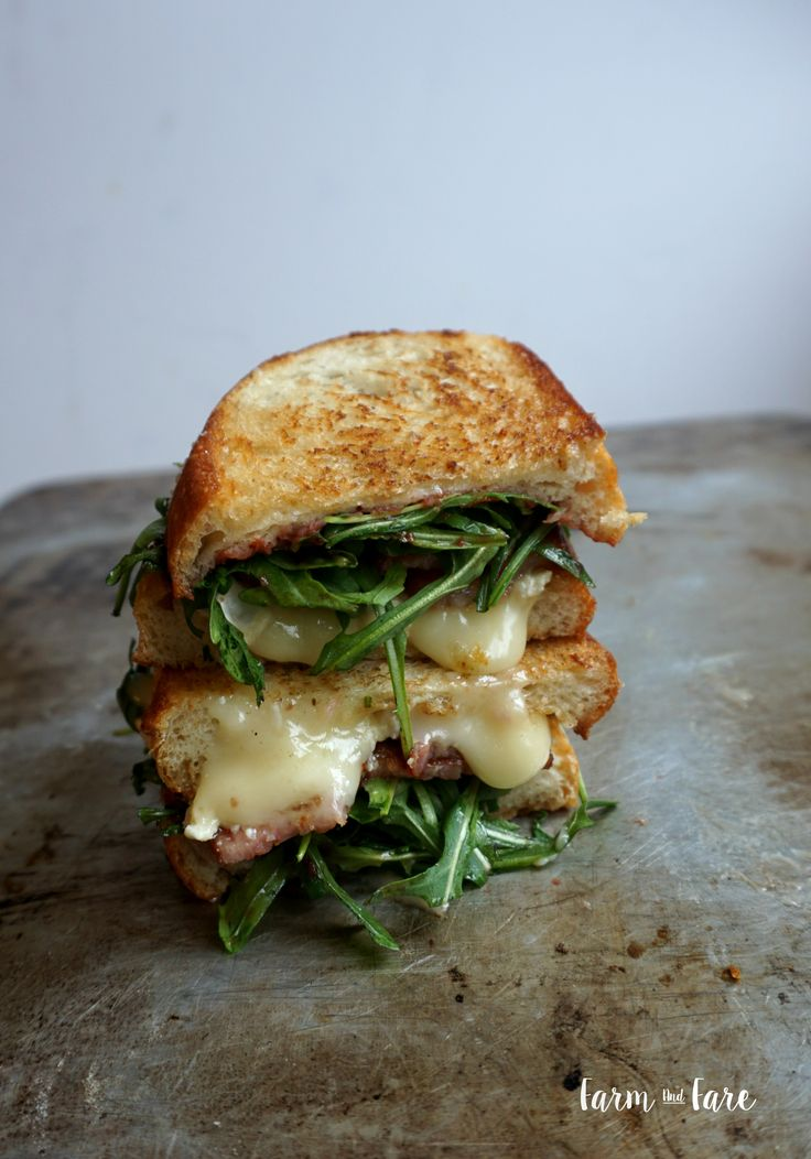 Melty cheesey Bacon Brie Sandwich – Farm and Fare