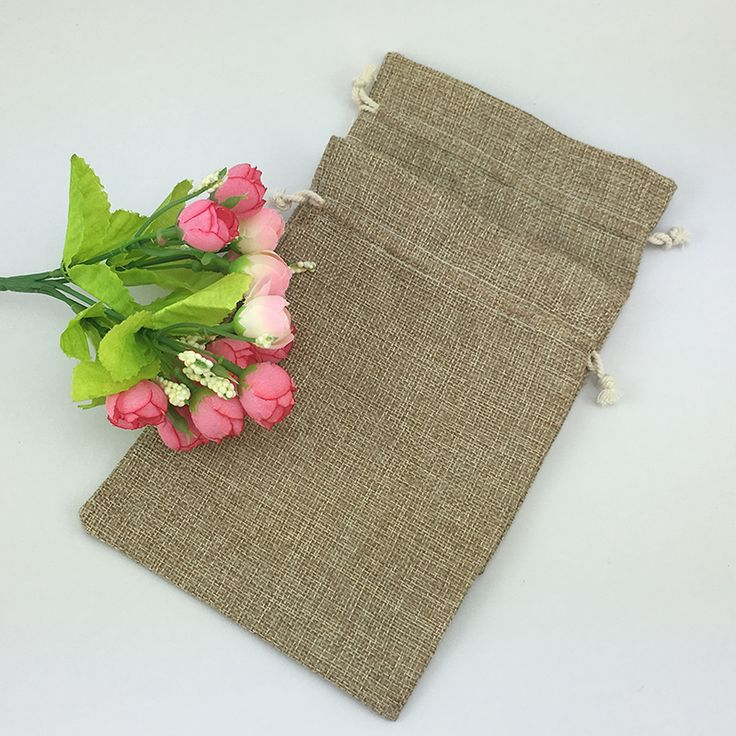 Find More Gift Bags & Wrapping Supplies Information about 15*20cm 500pcs Vintage Style handmade Jute Sacks Drawstring gift bags for jewelry/wedding/christmas Packaging Linen pouch Bags,High Quality for wedding,China gift wedding Suppliers, Cheap gifts for wedding from Fashion MY life on Aliexpress.com