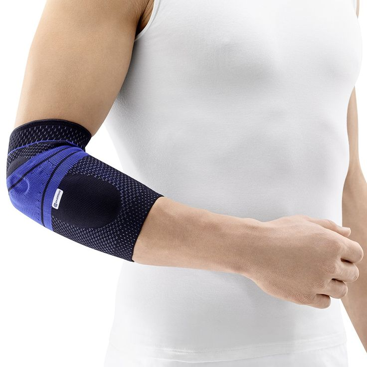 $74.98 Bauerfeind's EpiTrain® elbow supports deliver targeted relief for severe, persistent elbow pain, also called golfer's elbow or tennis elbow. It gets to work right at the root of the problem: the tendons and muscles of the elbow and forearm. Learn more: