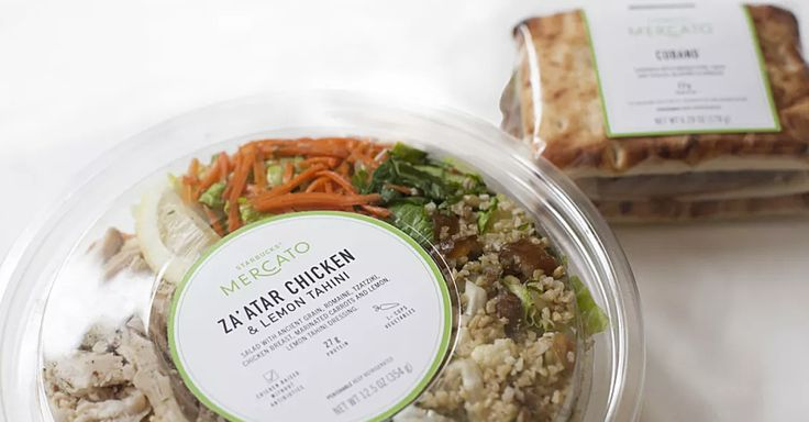 """Check out Starbucks new """"Mercato"""" lunch menu in the Chicago store."""