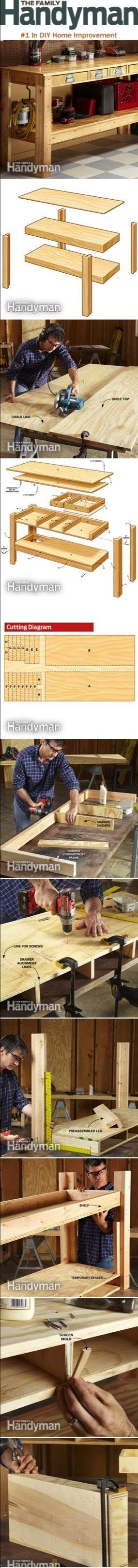 Workbench Plans Simple Workbench Plans