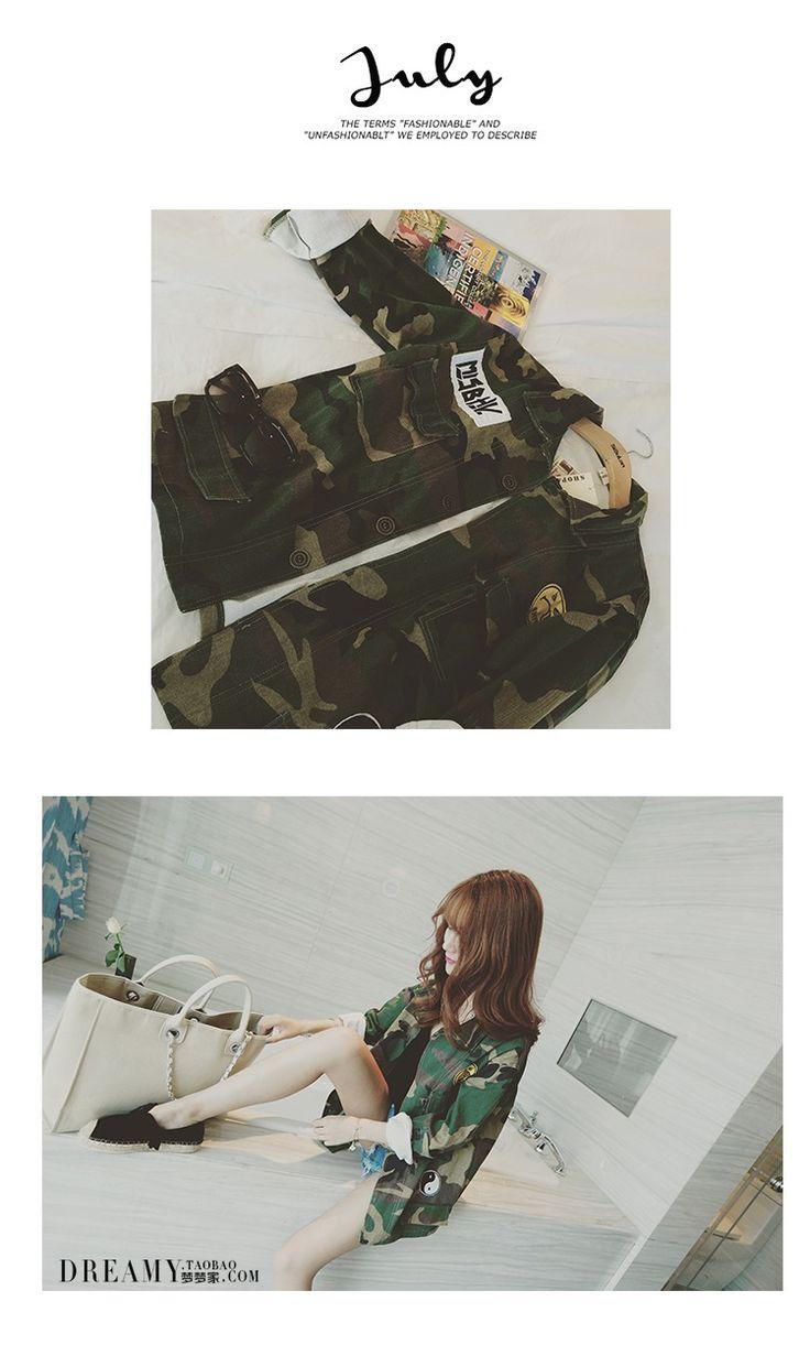 2016 di Modo Mimetico Militare Donne Giacca di Jeans Camo Giacche jaqueta feminina Dell'esercito Cappotti Verdi in 2015 Moda camouflage donne giacca militare camo giacca di jeans giacche da baseball jaqueta feminina dell'esercito cda Giacche di base su AliExpress.com | Gruppo Alibaba