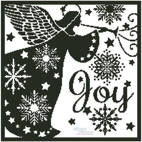 Artecy ~ Snowflake Angel Silhouette