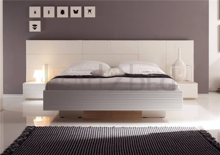 Hasena Superb Vilo Opio - Real Leather Bed with Wall Panel