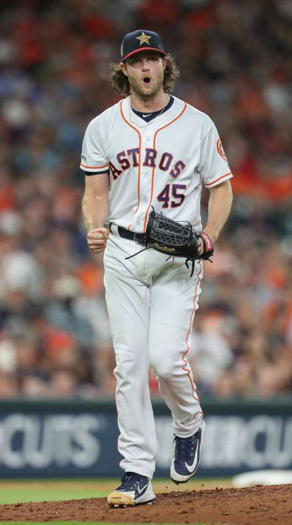 Gerrit Cole Astros Shut Out Angels Houston Astros Astros Baseball Astros