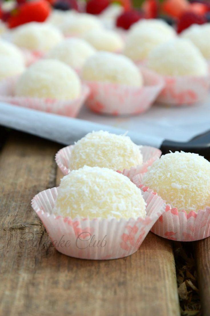 Tartufi cocco e latte condensato | Cupcake Club