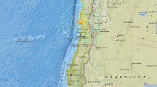 Идеальное путешествие: В Чили произошло сильное землетрясение