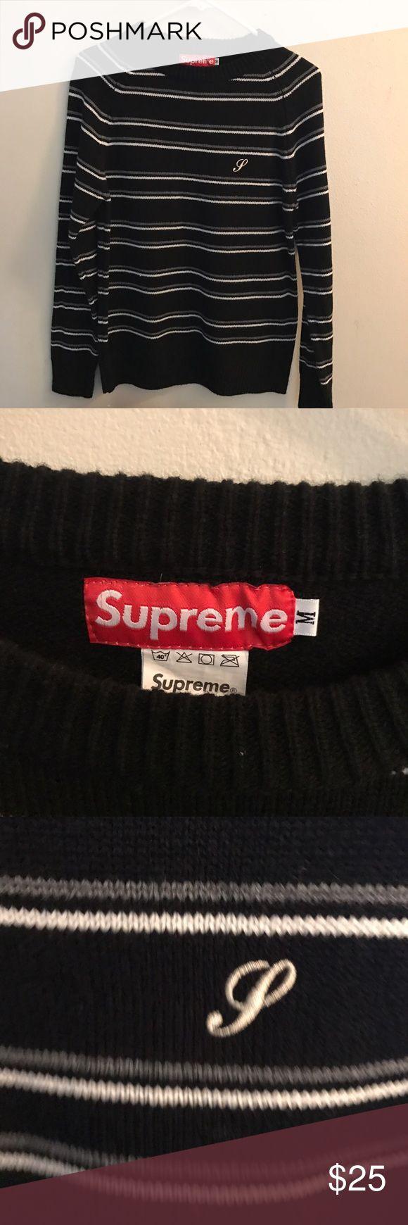Supreme sweater Supreme sweater size medium Supreme Sweaters Crewneck