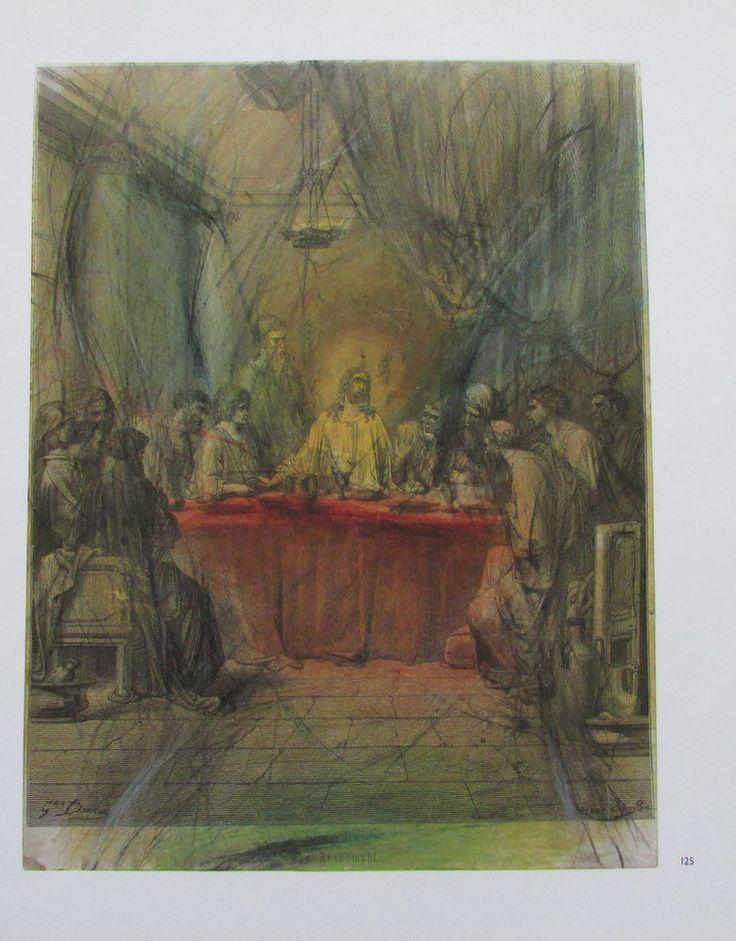 Arnulf Rainer DAS LETZTE ABENDMAHL Übermalung Kunstdruck Religion Bibel print | eBay