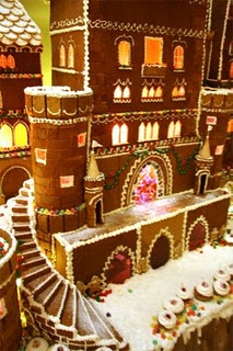 gingerbread house--spiral staircase! whut!?