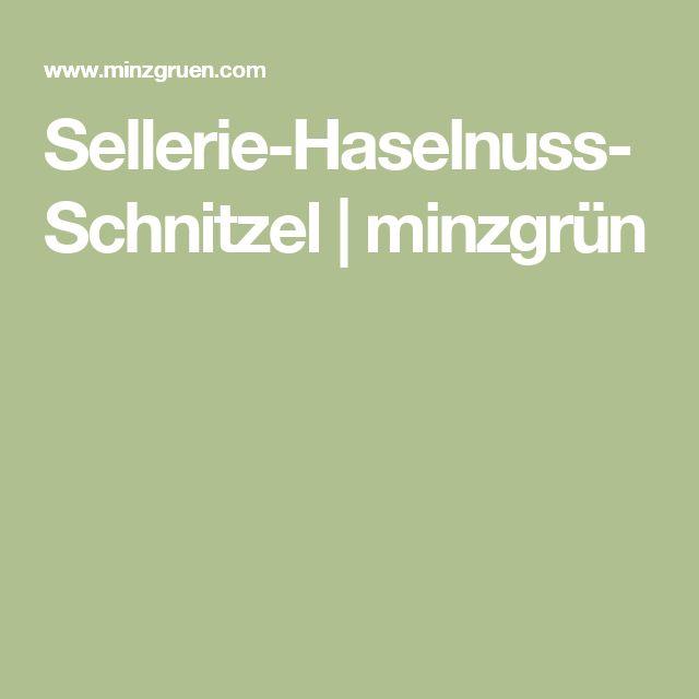 big sale bf45d 90b80 Sellerie-Haselnuss-Schnitzel   minzgrün ...