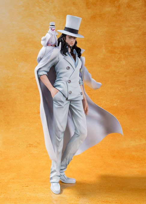 Figura Rob Lucci 16,5 cm, Film Gold. One Piece. Tamashii Nations. Figuarts Zero.  El fabricante bandai Tamashii Nations nos presenta esta figura Rob Lucci de 16,5 cm que pertenece a la 13ª película de One Piece que se estrena en Japon estrenada como One Piece: Film Gold.