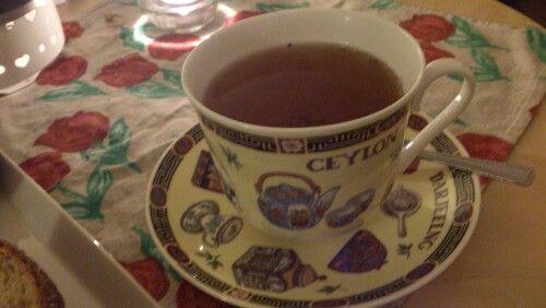 My new tea cup