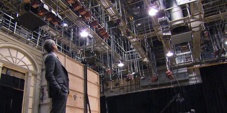 Mo Rocca parts the curtains and takes viewers on an up-close-and-personal tour of CBS' studios in New York City, down to the catacombs beneath Manhattan.