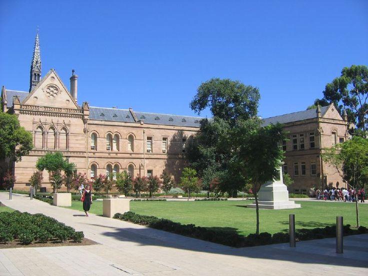 منظر عام لجامعة أديلايد  Adelaide University