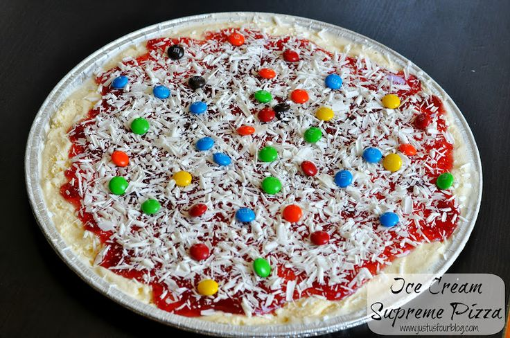 Cake Ice Cream Pizza : 17 Best images about Party Food on Pinterest Fondue ...