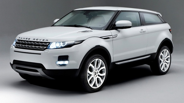 Land Rover Evoque Sport model for car finance customers