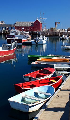 Colorful Rockport