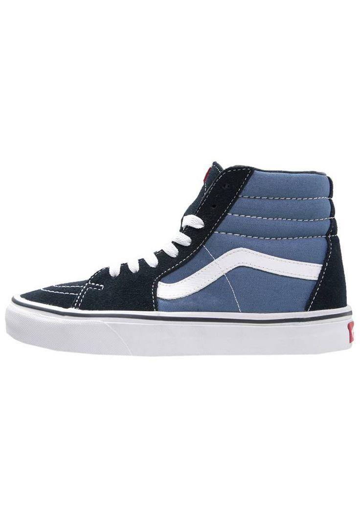 Vans. SK8 - Sneaker high - navy. Sohle:Kunststoff. Decksohle:Textil. Innenmaterial:Lederimitat/Textil. Details:Ziernähte. Obermaterial:Leder und Textil. Verschluss:Schnürung. Fütterungsdicke:kalt gefüttert. Schuhspitze:rund. Absat...